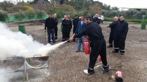 קורס בטיחות אש במשא בטוח